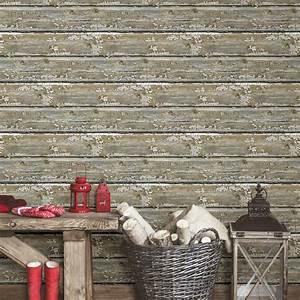NuWallpaper Planks Peel and Stick Wallpaper Roll