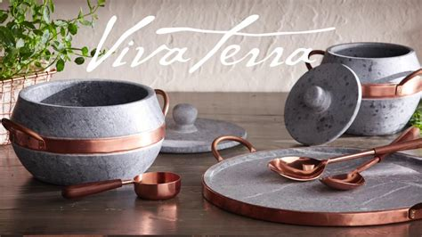 Soapstone Cookware by Vivaterra Soapstone Cookware