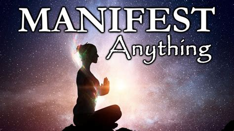 how to use visualization to manifest anything powerful