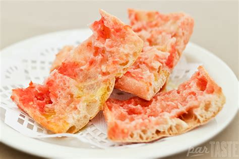 cuisine du portugal pa amb tomaquet toast with tomato recipes by