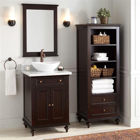 keller mahogany linen storage cabinet dark espresso