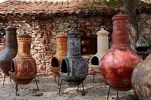 Cheminee D Exterieur Barbecue : terres cuites brasero mexicain un barbecue chemin e d ~ Premium-room.com Idées de Décoration