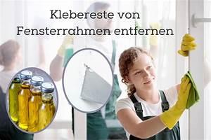 Klebereste Von Kunststoff Entfernen : klebereste von fensterrahmen sicher entfernen ~ Watch28wear.com Haus und Dekorationen