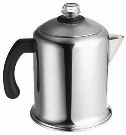 Using a camping coffee percolator is quite simple once you get the hang of it, but if you're going to as soon as you place the percolator on the coals, grate over a fire, or a camping stove, ensure you how to make your camping coffee percolator last longer. How to Use a Stove Top Coffee Percolator | Stovetop coffee percolator, Camping coffee ...