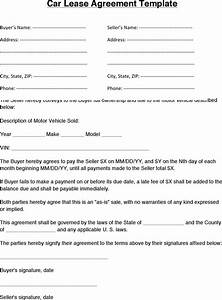 car lease agreement download free premium templates With car lease document template