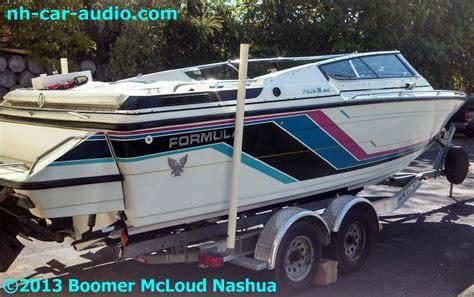 Boat Store Hudson Nh by Custom Formula Boat Audio Boomer Nashua Mobile Electronics