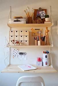 Créer Son Bureau Ikea : 5 id es pour am nager un bureau dans un petit espace ~ Melissatoandfro.com Idées de Décoration