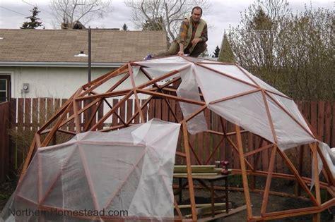 build  geodome greenhouse teplitsa parnik  ogorod