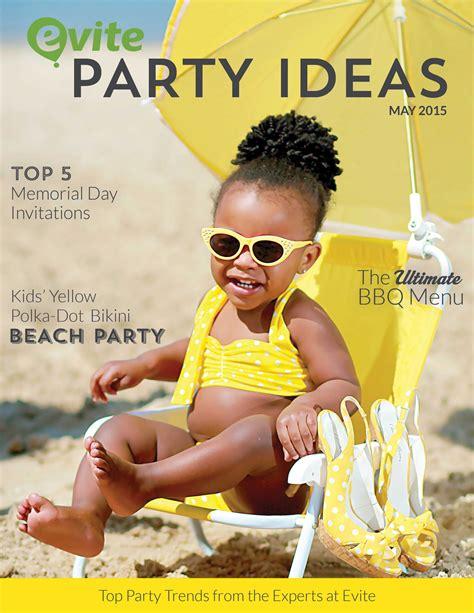 evite party ideas   evite