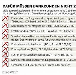 Zinserträge Berechnen : banken berechnen ihren bankkunden verbotene kontogeb hren welt ~ Themetempest.com Abrechnung