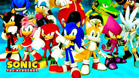 All Sonic Hedgehog Characters
