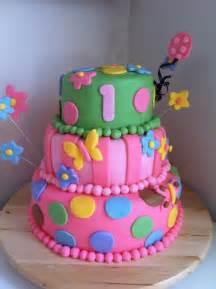 Baby Girl 1st Birthday Cake Ideas
