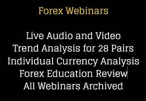 Forex Webinar Market Analysis, Education - Forexearlywarning