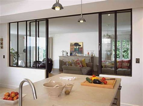 fenetre separation cuisine idee de separation entre cuisine et salon idc séparation