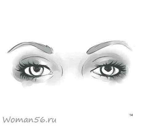 Как красиво нарисовать глаза человека поэтапный метод
