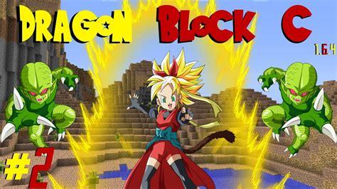 minecraft dragon block   girl super saiyan