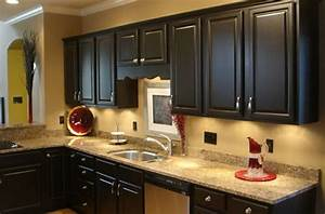 Black Kitchen Cabinets… Fabulously Finished