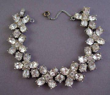 vintage costume jewelry ideas  pinterest