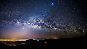 Milky Way, Meteor and Ariane 5 rocket seen over Doi ...