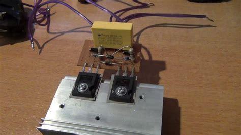 mazilli zvs capacitor bank charger youtube