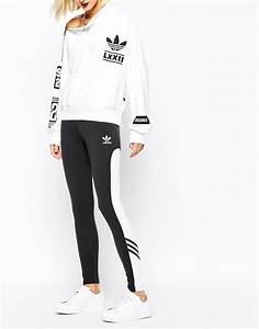 Adidas originals Originals Rita Ora Leggings With Contrast Panel | Lyst