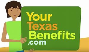Texas Medicaid Eligibility Income Chart 2018 Yourtexasbenefits Create An Account Food Stamps Now