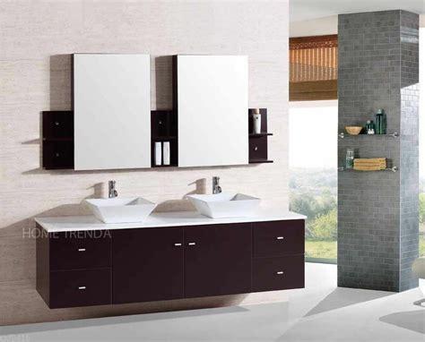 wall mount floating   double sink bathroom vanity
