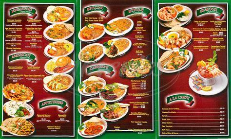 cuisine menu cabrera 39 a cuisine menu duarte dineries