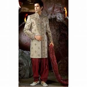 Tenue Blanche Homme : acheter tenue indienne de mari brod et incrust de pierres tenue indienne de mari ~ Melissatoandfro.com Idées de Décoration