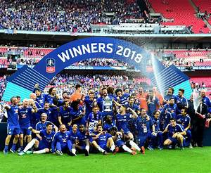 FA Cup final: Chelsea celebrate with famous trophy after ...