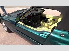 BMW Z1 Doors Open Close YouTube