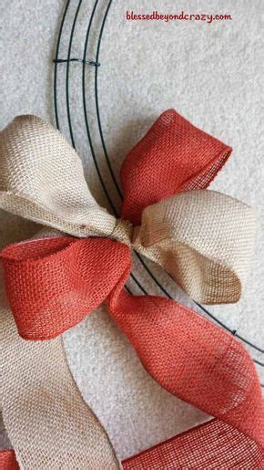 how to make a burlap wreath with two colors best 25 burlap wreaths ideas on burlap wreath