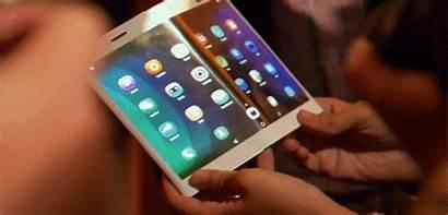 Phone Foldable Flexible Lenovo Display Smartphone Samsung