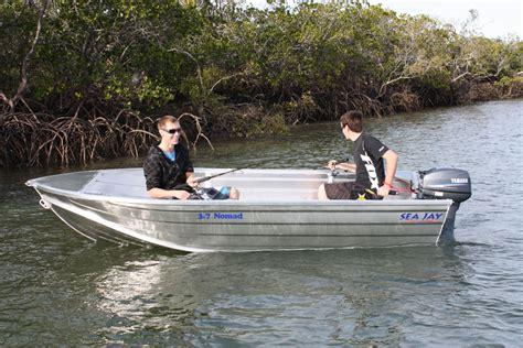 10ft Jon Boat Stability by Sea Aluminium Boats Nomad Nomad Hs Sea Boats