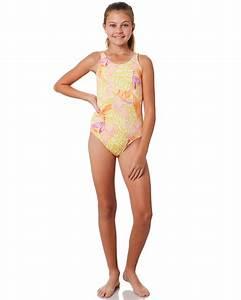 Billabong Kids Size Chart Billabong Kids Girls Love Palm One Piece Mimosa Surfstitch