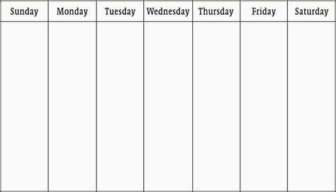 Week Calendar Template 3 Work Week Calendar Template Ganttchart Template