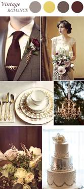 vintage wedding colors top 8 trends for 2015 vintage wedding ideas
