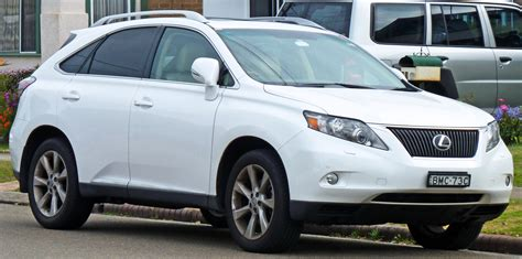 lexus jeep 2010 2010 lexus rx 350 information and photos momentcar