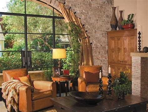 Rustic Living Room Wall Decor Ideas by 10 Rustic Living Room Ideas That Use Stone