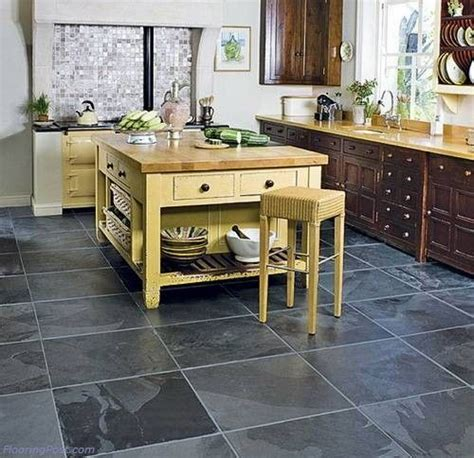 kitchen floor tiles kitchen floor black slate kitchen floor flooringpost