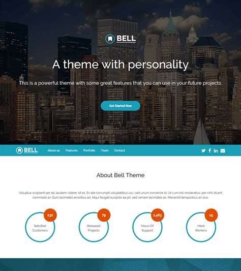 bootstrap landing pages templates