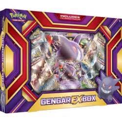 pokemon pokemon gengar ex box p