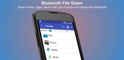 bluetooth files share apps  google play