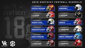 Kentucky Wildcats Football 2018 Schedule, Dates, Locations ...