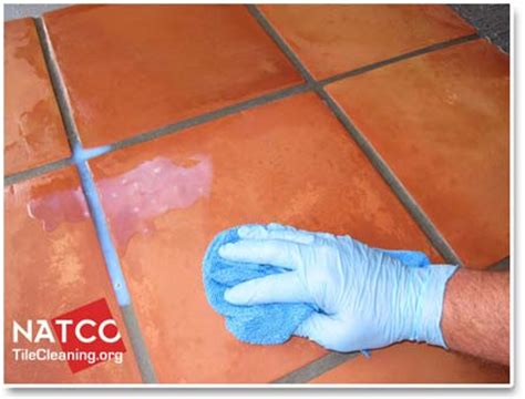 saltillo tile cleaning and sealing sealing saltillo tiles with topical glossy or matte sealer
