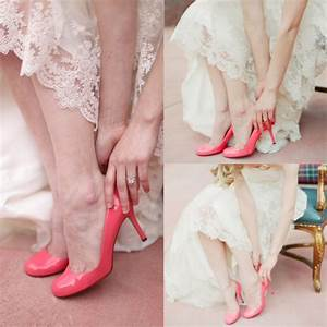pink wedding shoes archives glitter incglitter inc With wedding shoes for lace dress