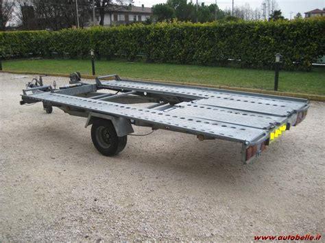 vendo carrello porta auto vendo carrello trasporto auto semi nuovo