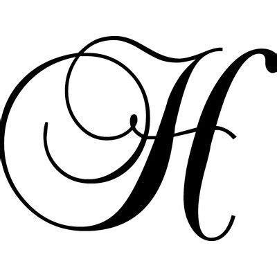 enchantingly elegant letter  wall decal lettering