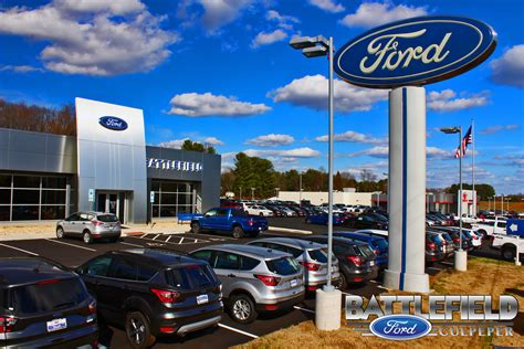 Battlefield Ford Culpeper Va by About Battlefield Ford Culpeper New Ford And Used Car