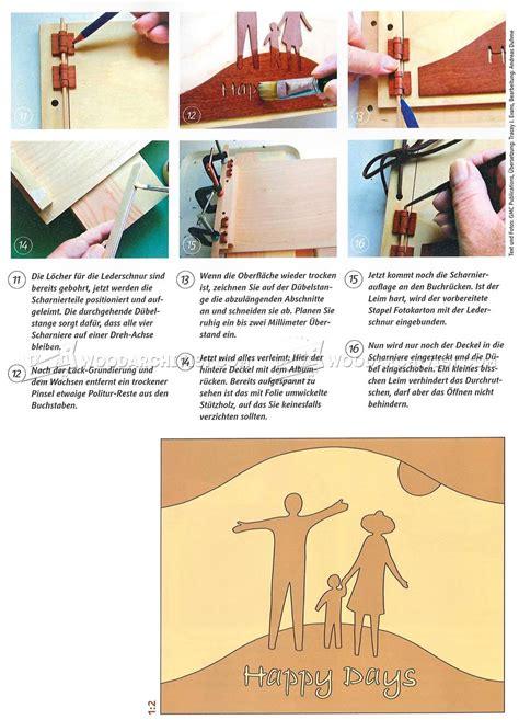 making wooden photo album woodarchivist